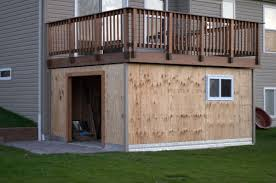 Deck Designs With Storage Underneath Shed Under Deck Ive Been Thinking About This One For A