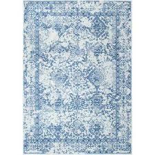 vintage odell light blue 7 ft x 9 ft area rug