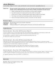 It Help Desk Resume Resume