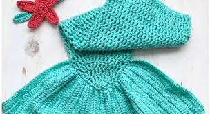 Free Crochet Baby Mermaid Tail Pattern