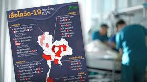 อัปเดตรายจังหวัด ที่ไหนมีผู้ป่วยโควิด-19 แล้ว จังหวัดไหนยังรอด