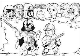 Star Wars Coloring Pages For Kids Printable Coloring Page For Kids