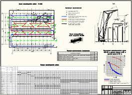 Курсовой проект на тему Монтаж несущих конструкций одноэтаж  Курсовой проект на тему Монтаж несущих конструкций одноэтаж