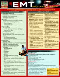 Emt Emergency Medical Technician Laminated Study Guide 9781423218630