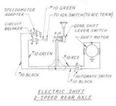 electric shift speed rear axle wiring diagram for  electric shift 2 speed rear axle wiring for 1957 1959 studebaker truck