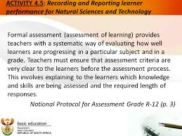 Formal Assessment Best CURRICULUM AND ASSESSMENT POLICY STATEMENTS CAPS ORIENTATION 44