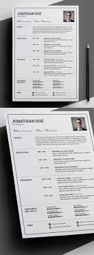 Cool Free Resume Templates 100 Free Creative Resume Templates with Cover Letter Freebies 58