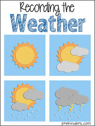 Weather Chart For Preschool Classroom Printable Recording The Weather Prekinders