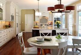 modern country kitchens. Delightful Country Kitchen Decor With French Kitchens Decoration And Dining Area Modern