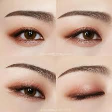 copper korean makeup