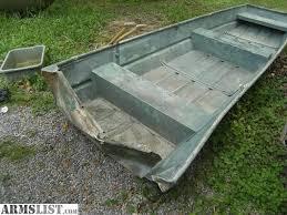 12 flat bottom jon boat