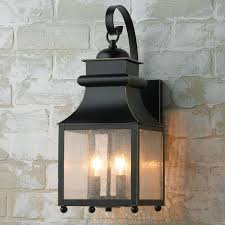 homesteader seeded glass outdoor wall lantern