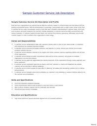 Customer Service Resume Skills Wonderful Customer Service Resumes Skills Resume Sample Employment 40