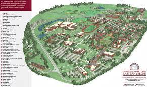 University Of Maryland Byrd Stadium Seating Chart Campus Map University Of Maryland Eastern Shore
