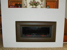 vlvf43 luminary linear with optional amber pebbles and aged copper trim