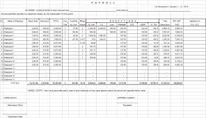 Payroll Spreadsheet Template Uk And Subcontractor Payroll Template
