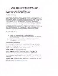 employment amp volunteer recruitment lake echo communityvolunteer resume business letter sample sample cover letter for volunteer work