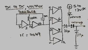 dc circuit diagram the wiring diagram how to make a simple dc to dc voltage doubler circuit diagram circuit diagram