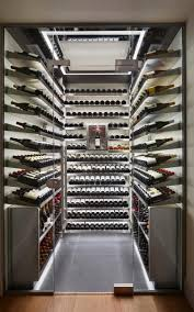 One of Spiral's walk-in wine cellars, which cost an average of 30,000