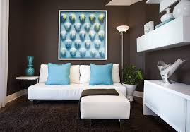 Living Room Turquoise Remodelling Awesome Design