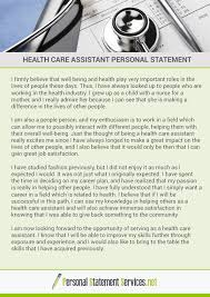 Health Care Assistant Personal Statement Pin By Personal Statement Examples On Health Care Assistant Personal