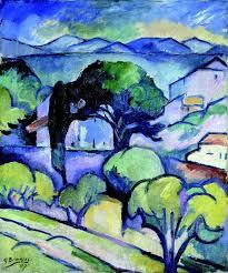 georges braque 1882 1963 landscape of provence l estaque