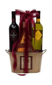 a perfect match wine gift basket