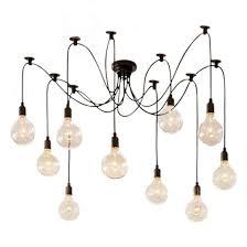 black modern chandeliers. Wonderful Modern Chandeliers Dining Room Edison Spider Lamp In Black Chandelier Cult UK