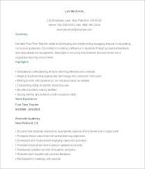 Resumes Formats Beauteous Download Free Resume Templates Catarco