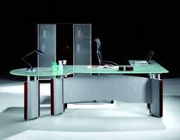 glass office tables. Office Table Glass Desks Auckland Desk Cover Top L Shaped Regarding De Full Tables