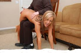 Bondage mature spanking woman