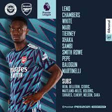 Arsenal - TEAM NEWS! 🚨 🏴 Ben White ...