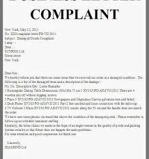 Complaint Format Complaint Letter Format Fieldstationco within Business Complaint 80