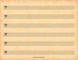 print out blank music sheet blank bass clef staff paper printable sheet music pdf