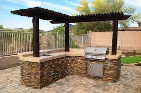 built in grill phoenix patio features