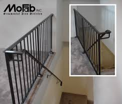 Wrought Iron Handrails Decor Wrought Iron Railing To Give Your Stairs Unique Look