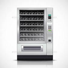 Modern Vending Machine Inspiration Realistic Modern Vending Machine By Macrovector GraphicRiver