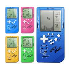 Tetris Máy Chơi Game Cổ Điển Hoài Cổ Đồ Chơi Trẻ Em của Máy Chơi Game Cầm  Tay Máy Xếp Hình Âm Thanh Trò Chơi Đồ Chơi|Điện thoại đồ chơi