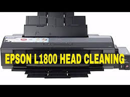 The epson l1800 is one of the most popular and affordable printers, build and easy to use. Epson L1800 Head Cleaning Youtube Cleaning Epson Repair
