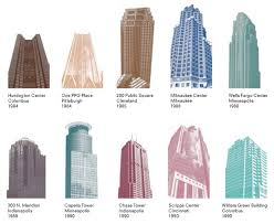 postmodern interior architecture. Building Illustration By Jayne Kelley Postmodern Interior Architecture