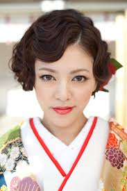 Nice Hair For Kimono Makeup And Hair In 2019 和装 髪型 ショート