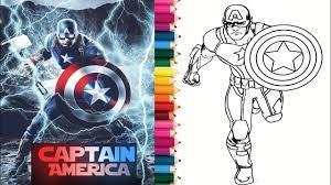 Tô màu Siêu Anh Hùng 2 - Captain America Coloring 2 || How to Color Captain  america Coloring | tô màu siêu nhân | Hướng dẫn vẽ tranh đẹp nhất - Việt  Nam Brand