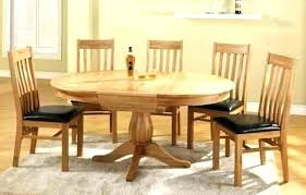 round oak dining table and 6 chairs oak dining table and chairs round oak dining table
