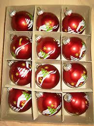 12 Alte Weihnachtsbaumkugeln Aus Lauscha Christbaumschmuck