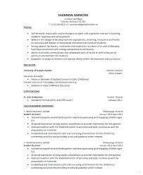 Kindergarten Teacher Resume Sample Resume For Kindergarten Teacher Sample Teaching Assistant