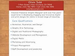 Freelance Graphic Designer Resume New Graphic Designer Resumes