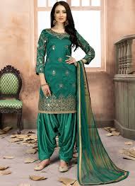 New Suit Design Pic Rama Tafeta Silk New Design Aanaya Latest Style Punjabi Suit