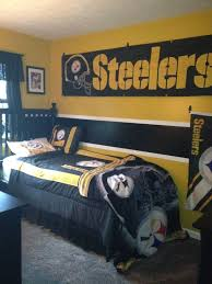 Steelers Bedroom Steelers Bedroom For The Home Pinterest Hawkeye I Want And