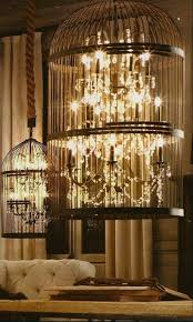 attractive diy birdcage chandelier diy vintage birdcage chandelier 1 rosepourpre