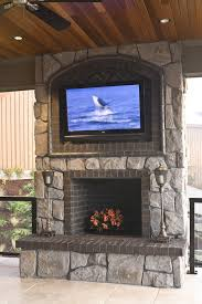 stylish mounting a tv over fireplace how to mount on wall with inside